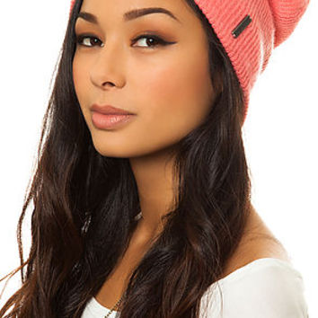 The Quinn Knit Beanie in Pink