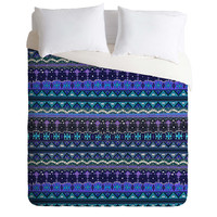 Sharon Turner Kilim Castellations Duvet Cover