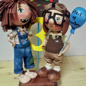 Ellie and Carl Cake Topper Ellie and Carl Centerpiece