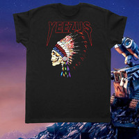 yeezus tshirt for women and men clothing
