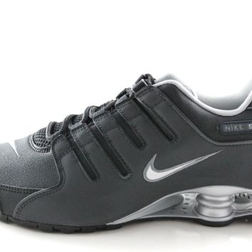 Nike Shox NZ EU Men's Black/3M Reflective Silver Supported Running Shoes 501524 024