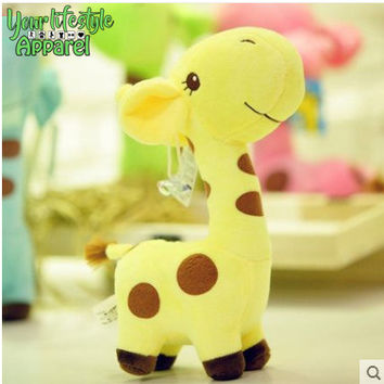Baby Giraffe Stuffed Pillow Toy