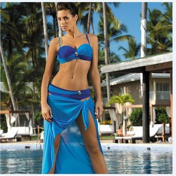 Swimsuit Beach Summer New Arrival Hot Stylish Sexy Patchwork Swimwear Bikini [7767321927]
