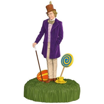 Willy Wonka and The Chocolate Factory Sound Ornament