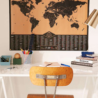 Adventure World Scratch Map - Urban Outfitters