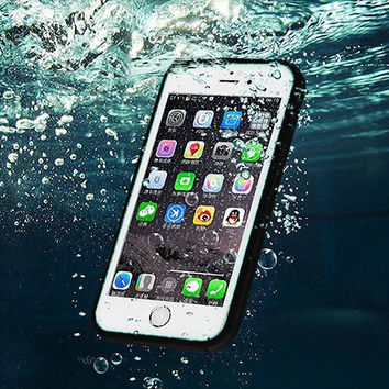 Protective Case Cover Waterproof Underwater Shockproof Durable Full Sealed iPhone 6S 6 Plus iPhone 5S 5 Se iPhone 7 7Plus + Gift Box