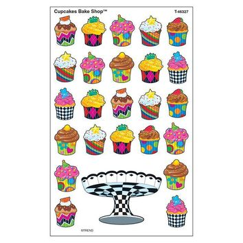 Cupcakes Bake Shop Supershapes Stickers Large