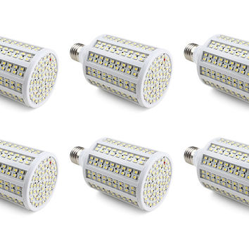 288x 3528 Chip 12V-24V 18W LED Light Bulb Renewable Energy System - 6 Pack
