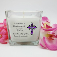 In loving Memory, Sympathy Gifts, Memorial Candles, Sympathy Candle, Memorial Gifts, Candles, Custom Gifts, Memorial Gift, Sympathy Gift