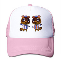 Print Your Own Adult Unisex Tendo Y Nendo Animal Crossing New Leaf 100% Nylon Mesh Caps One Size Fits Most Adjustable Trucker Hat