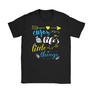 Graphic Shirt Enjoy Lifes Little Things Gildan Womens T-Shirt