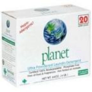 Planet Inc. Laundry Detergent Powdered Ultra (10x64 Oz)