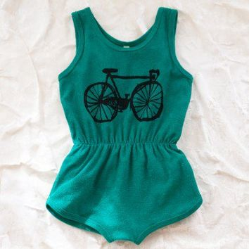 bobo choses bicycle playsuit - dresses/one pieces - girl | Thumbe Line