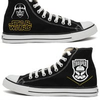 Star Wars Darth Vader Converse Shoes