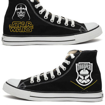 87c2c8f4e7bd Star Wars Darth Vader Converse Shoes