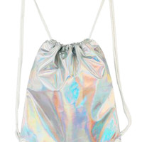 Hologram Drawstring Bag