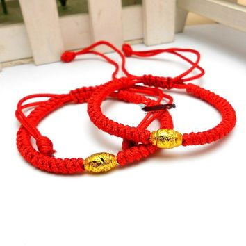 New Arrival Hand Braided Red Thread Bracelet