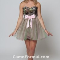 Short Camo Dresses for Homecoming and Prom Camouflage Prom Wedding Homecoming Formals