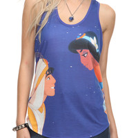 Disney Aladdin Jasmine Girls Tank Top