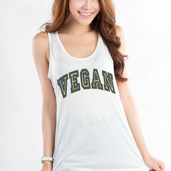 Vegan T Shirt Vegetarian Shirt Vegan Mofo Tank Tops for Women Printed Tank Hipster Tumblr Fashion Blogger Teens Girl Cute Funny Gift Present