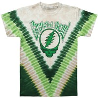Grateful Dead Men's  Countdown Tie Dye T-shirt Multi