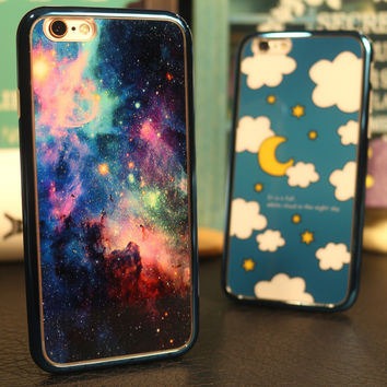 Hot Deal Cute On Sale Iphone 6/6s Stylish Mirror Apple Couple Phone Case [8383659207]