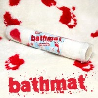 Blood Bath Bathmat