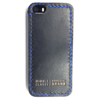 MIDDLE CLASSY SPROCKET LITE IPHONE 5/S CASE IN BLACK/BLUE