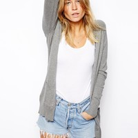 ASOS Boyfriend Cardigan With Star Patches