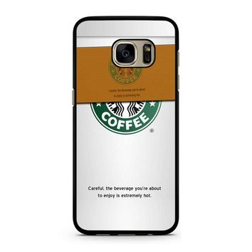 Starbucks Coffee Cup Samsung Galaxy S7 Case