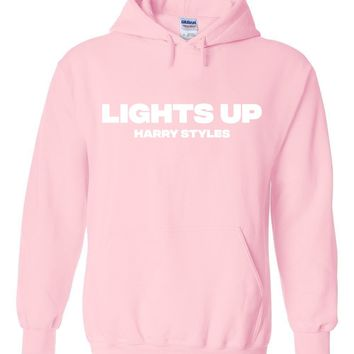 "Harry Styles ""Lights Up"" Hoodie Sweatshirt"