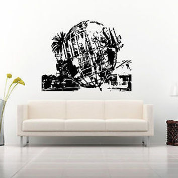Hollywood Wall Decal Hollywood Sticker Movie Star Room Living Room Decor 3735