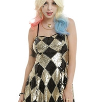 DC Comics Suicide Squad Harley Quinn Sequin Dress