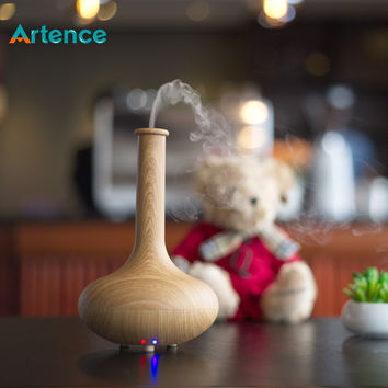 Hot Artistic Vase Style Essential Oil Aroma Diffuser Humidifier Ultra-quiet Auto-off Air Humidifier For Home Office Yoga SPA