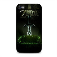 The Legend Of Zelda Sword  iPhone 4, 4s Case