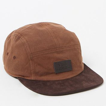 Vans Davis 5 Panel Camper Hat - Mens Backpack - Brown - One