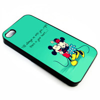 Mickey and Minnie Mouse Kiss | iPhone 4/4s 5 5s 5c 6 6+ Case | Samsung Galaxy s3 s4 s5 s6 Case |