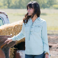 Dakota Denim Tunic - Blouses - Tops - Women's