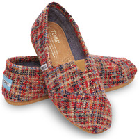 Red Boucle Women's Classic