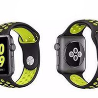 Silicone Sport Wrist Band for Apple Watch