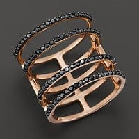 Khai Khai 18K Rose Gold Rachel's Ring