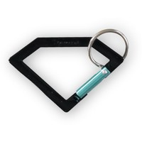 Diamond Supply Co Black Carabineer Rock Key Chain