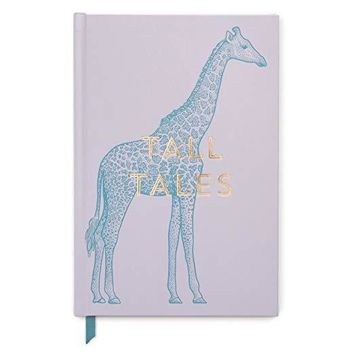 Vintage Sass Tall Tales Giraffe Soft Touch Hardcover Bound Book