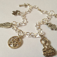 Supernatural Protection Mary Winchester Charm Bracelet