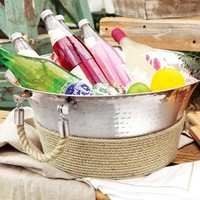 All Gifts - Montauk Hammered Silver Ice Bucket
