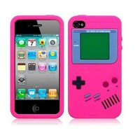 Retro Nintendo Iphone 4/4s Case Pink!