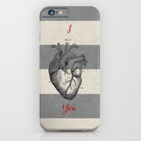 I heart you  iPhone & iPod Case by Her Art