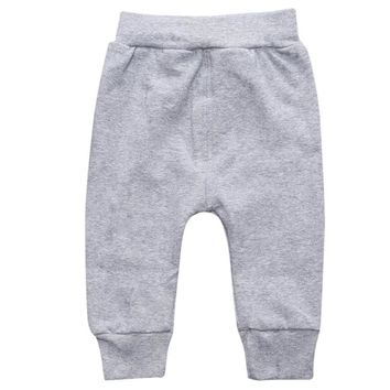 Thick Pants Bloomers PP long Harem Pants Bebe Leggings 2017 Autumn Winter Newborn Infant Baby Boys Girls