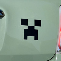 Minecraft Creeper Face Decal