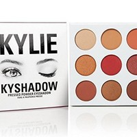 New The Burgundy Pallete Kyshadow by Kylie Jenner Kylie Cosmetics